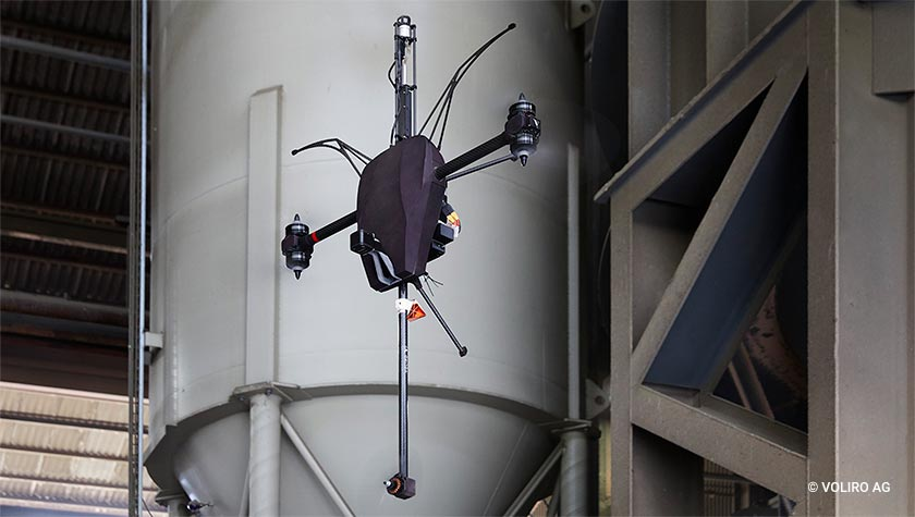 DroneMAT on articulating drone